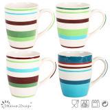 tazza di ceramica del latte di 12oz Handpainting