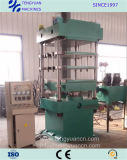 Imprensa Vulcanizing da moldura do vidro de originais quente eficiente elevada para produzir os produtos de borracha