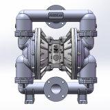 """3 """" 큰 교류 무쇠 공기에 의하여 운영하는 격막 펌프"""