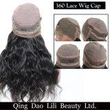 Una parrucca frontale pre Pucked dei 360 merletti con la parrucca brasiliana dei capelli umani di Remy dell'onda del corpo dei capelli del bambino