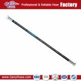 L'acier à haute pression sur le fil tressé Le flexible hydraulique de caoutchouc SAE100/R2 à la norme DIN EN 853 2SN