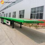 Flachbett-LKW-Schlussteil der Wellen-40feet 3 hergestellt in China