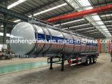 반 반 중국 석유 탱크 트레일러 연료 유조선 트레일러 3 차축