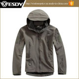 Outdoor impermeável à prova de vento casaco de caça casaco tático moletom