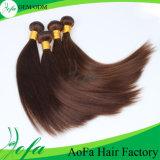 Do cabelo humano do Virgin de Aofa extensão leitosa do cabelo humano