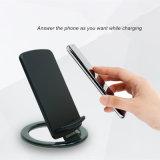 Venda quente Qi Carregador Sem Fio Dock para telefones inteligentes/Apple iPhone 8/X