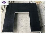 Shanxi 대중적인 까만 화강암 실내 벽난로 또는 난로 또는 히이터