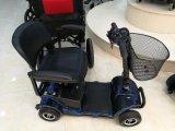 Motorino elettrico a quattro ruote di mobilità con Shoppingbasket