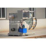 5 toneladas Decoiler hidráulico automático com carro de bobina