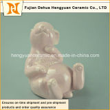 Small Ornamentのための陶磁器のイースターRabbit Figurines