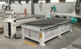 Ranurador del CNC de madera del CNC 1325 del eje de la buena calidad 3 con el vector del vacío