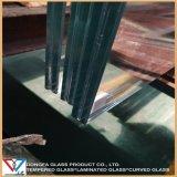 De Balustrade van het Loopvlak As2208 van treden maakte Gelamineerd Glas aan