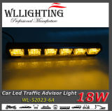 Road Warning Light Bar 떨어져 호박색 LED Truck