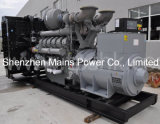 2250kVA 1800kwの予備発電イギリスエンジンのディーゼル発電機