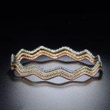 Speicher-Geschenk-einfacher Entwurfs-Goldarmband ohne Stone