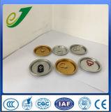 Conservas reutilizable tapas Las tapas de cerveza puede personalizar los extremos de latas de aluminio