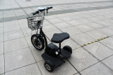 Seat 및 Handles 또는 Electric Tricycle를 가진 500W 48V Front Suspension Fork Zappy Three Wheel Elecric Scooter