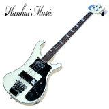 Guitare musique/4-String basse électrique de Hanhai avec le corps crème