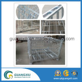 Tipo de levantamento gaiola do armazenamento para o canteiro do armazém/obras