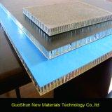 Panneau en aluminium de nid d'abeilles d'exportation