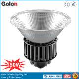 150W 2016 110lm/W il migliore prezzo Highbay illumina Dimmalbe 150 watt di alti della baia del LED montaggi dell'indicatore luminoso