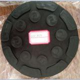Qualitäts-runde Gummiauflagen für Auto-Aufzüge