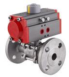 Válvula de bola de acero inoxidable con actuador neumático Fabricante
