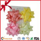 Sparkle Star Bow of Ribbon pour boîtes cadeaux en cadeau