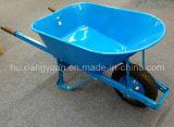 Jardim de aço e de Plástico Bandeja Wheelbarrow Construção