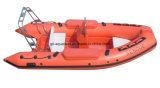 Aqualand 4.2m de Boot van de Rib 14feet/Stijve Opblaasbare Boot/de Boot van de Redding (RIB420B)