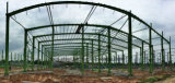 風の抵抗のクレーンビームが付いている強い鉄骨構造の倉庫