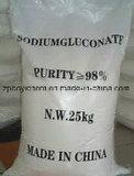Gluconato de sódio utilizado como agente de limpeza de superfície de metal