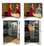 Écran LCD de haute qualité étanche Photobooth miroir magique ou de la publicité avec système CNS