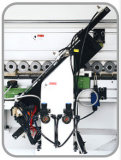 Machine de bordure foncée de contrôle pneumatique
