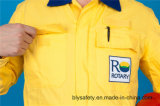 Vêtements de travail bon marché élevés de Quolity de longue sûreté de chemise du polyester 35%Cotton de 65% (BLY2008)