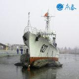 Aerostato di lancio della nave marina
