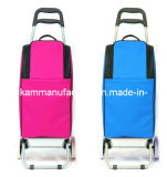 Trolley Insulated Panier d'achat Rolling Cooler Shopper Cart