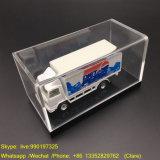 Cas d'exposition acrylique rectangulaire de jouet de vente chaude