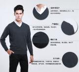 Des Yak-Wolle-/Kaschmir-V Stutzen-Pullover-lange Hülsen-Strickjacke/Kleidung/Kleid/Strickwaren