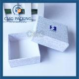 Caja de papel decorativo de cartón rígido para joyería (CMG-PGB-049)