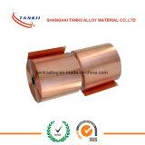 batterie au lithium de cuivre pure de clinquant de la bande 8um