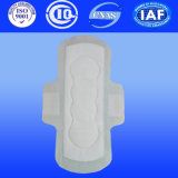 Night Use Hygiène féminine Doublure sanitaire Pad Panty avec couverture PE et papier hygiénique (T129)