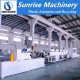 Máquina elétrica de alta velocidade da extrusão da tubulação da canalização do PVC de China
