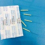 Aghi di plastica sterili di agopuntura della maniglia di marca di Shenlong per monouso