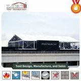 20m grande tenda de casamento de PVC de alumínio para exterior com parede claro