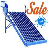 電流を通された鋼鉄Non-Pressurized太陽給湯装置システム(100L/120L/150L/200L/240L/250L/300L)