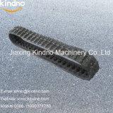 As peças de máquinas de construção utilizados de esteiras de borracha da esteira de borracha 150*72