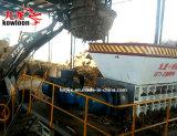 Buque de la junta de cobre de la basura de la fábrica de piezas de Shredder