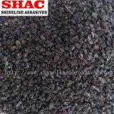 Brown-Aluminiumoxyd-Sand und Puder