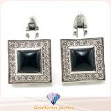 Cufflink ювелирных изделий стерлингового серебра шарма 925 ювелирных изделий способа людей (A11C001)